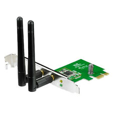 ASUS PCE-N15 Dual Aerial Wireless PCI Express WiFi Card 300Mbps 802.11 B, G & N