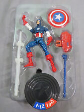 "Toy Biz Marvel Legends Universe Showdown Captain America 3.75"" Avengers Figure"