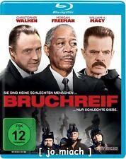BRUCHREIF / Christopher Walken, Morgan Freeman - Blu Ray wie NEU / Wendecover