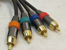 NXG Professional Component Video/Digital Coaxial Audio Cable 6 FT 4 x RCA
