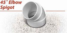 NuTone CF369 45 Degree Elbow Spigot Central Vacuum Fitting