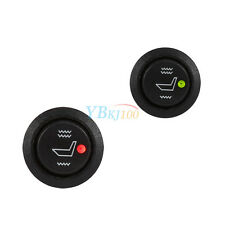 2Pcs 12V Car Seat Heater Switch 3 Pin Round Heated Rocker Toggle Control Hot GW