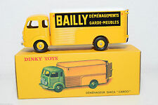 """RARE DINKY TOYS SIMCA CARGO """"BAILLY DEMENAGEMENT"""" MINT IN BOX"""