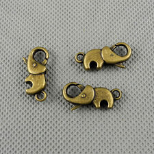 1x Craft Supplies Jewelry Making Findings Charms A1135 Elephant Lobster Clasp