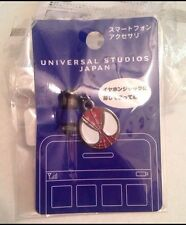 Universal Studios Japan Marvel SPIDERMAN-Mobile Headphone Jack Plug/Cap CHARM!!!