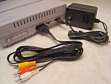 SNES Super Nintendo Hook-ups kit *AC ADAPTER + AV CABLE* Brand New Set GUARANTEE