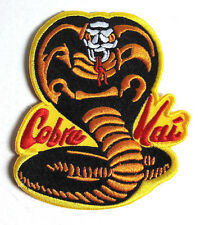 "Karate Kid Cobra Kai DELUXE Logo 4""  Costume Patch- FREE S&H (CWPA-KK-CK)"