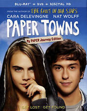 Paper Towns Blu-ray/DVD with Slip Cover 2-Disc Set + Digital Copy (2015)