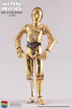 "Sideshow Medicom Toy RAH Real Action Heroes Star Wars C-3PO 1/6 12"" figure"