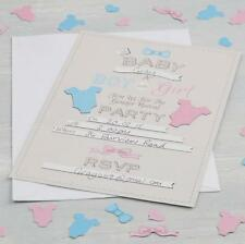 Invitations - Gender Reveal -Little Lady Mini Mister Baby Shower Party Supplies