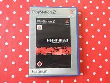 SILENT Hill 2 Director's Cut PLAYSTATION 2 ps2 in scatola originale con istruzioni usk18