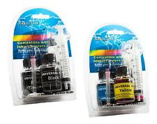 HP Deskjet 3050A e Printer Ink Cartridge Refill Kit Black Cyan Magenta Yellow