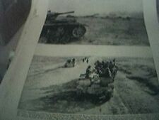 magazine picture world war two ww2 - 8th army victory in libya 1 page