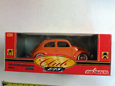 MAJORETTE ORANGE HARD TOP SUNROOF BUG VW Beetle 1:18 SCALE