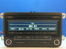 VW GOLF PASSAT TOURAN CADDY SCIROCCO AMAROK RCD310 CD RADIO MP3 LED STEREO CODE