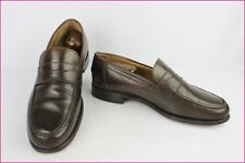 Mocassins LOAKE HOMAKERS Tout Cuir Marron UK 9,5 / FR 43,5 BE