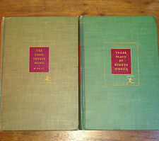 Eugene O'Neill, Three Plays/The Long Voyage Home, 2 books, Modern Library