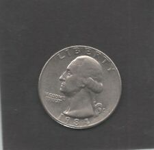 Moneta Stati Uniti United States Quarter Dollar 25 Cent 1984 P Washington STU198
