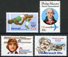 Air Mail Issues 1979 to 1980 Complete Set 4 MNH Stamps Scott's C97 C98 C99 C100