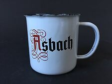 Asbach Uralt 'the Big Buck' Emaille Becher Mule Cup Bar Cocktail Deko NEU OVP