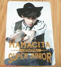 SUPER JUNIOR SJ MAMACITA AYAYA SM LOTTE POP UP RYEOWOOK PHOTOCARD PHOTO CARD NEW