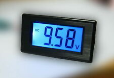 Blue LCD Voltage Volt Meter 7.5-20V 2-Wire No Need Power Battery 12V Monitor