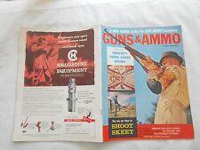 GUNS & AMMO MAGAZINE--APRIL,1961