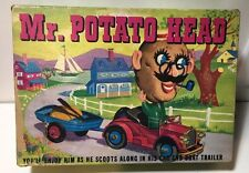 Vintage 1950's Mr Potato Head Car, Boat & Accessories Hassenfeld Bros (BOX ONLY)
