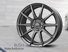 Set of 4 MOMO Car Wheel Rim 17 x 7.5 Rush - Anthracite 5 x 114.3 RU75751442A