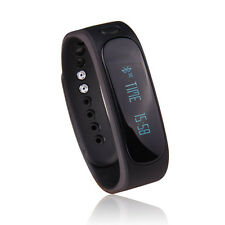 Gofit E02 Sports Bracelet OLED Fitness Band Bluetooth Version (Black) Monitors