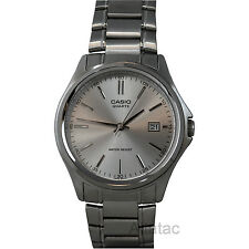 Casio MTP-1183A-7A Men's Silver Quartz Casual Analog Watch w/ Date Display