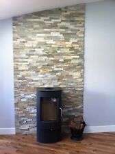 Splitface Oyster Maxi  Slate Mosaic Tiles ( sample ) wall cladding feature wall