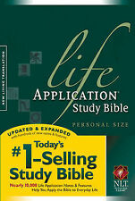 NLT Life Application Study Bible by Tyndale House Publishers (Paperback, 2005)