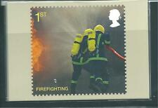 GB - PHQ CARDS -2009- FIRE AND RESCUE SERVICE  - COMPLETE SET  MINT