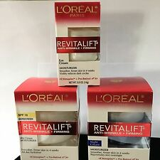 L'OREAL Revitalift Anti-Wrinkle Firming Day, Night and Eye Cream Moisturizers