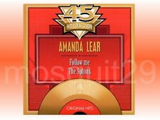 "AMANDA LEAR ""FOLLOW ME / THE SPHINX"" RARE CDsingle BELGIUM"