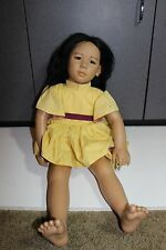 "Life Size Annette Himstedt Doll  24"" Original Clothing Puppen Kinder Asian"