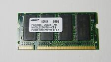 Samsung 256MB DDR PC2700 CL2.5 PC2700S -25331-A0 SoDimm Ram