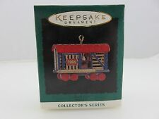 Hallmark Keepsake Ornament STOCK CAR Noel R.R. Miniature Train