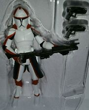 Star Wars COMMANDER PONDS Figure CW Red Ryloth Clone Trooper Target Exclusive