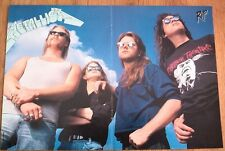 METALLICA blue sky Centerfold magazine POSTER  17x11 inches