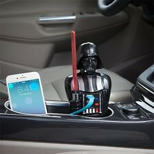 Star Wars Darth Vader USB Car Charger 2 Ports Lightsaber