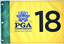 2015 OFFICIAL PGA Championship (Whistling Straits) SCREEN PRINT Golf FLAG