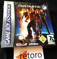 FANTASTIC FOUR LOS CUATRO FANTASTICOS 4 GBA GAMEBOY ADVANCE PAL Alemania NUEVO