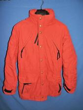 REI M Mens Red Winter Coat Outdoor Snow Nylon Zip Snap Insulated for Cold Medium
