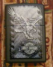 HARLEY DAVIDSON IRON EAGLE 2 ZIPPO LIGHTER FREE P&P FREE FLINTS