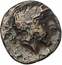 LARISSA PHRIKONIS in AEOLIS 400BC River-god Apollo Ancient Greek Coin i50530