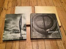 FIRST EDITION ART BOOKS BRANCUSI SLIPCASES Job Lot PHOTOGRAPHIC