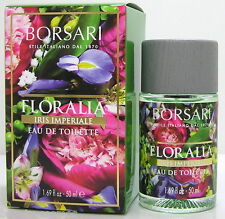 BORSARI 1870 FLORALIA Iris imperiale 50 ML EDT SPRAY neuovp