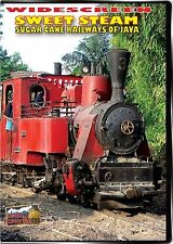 SWEET STEAM THE SUGAR CANE RAILWAYS OF JAVA DVD-R HIGHBALL PRODUCTIONS NEW VIDEO